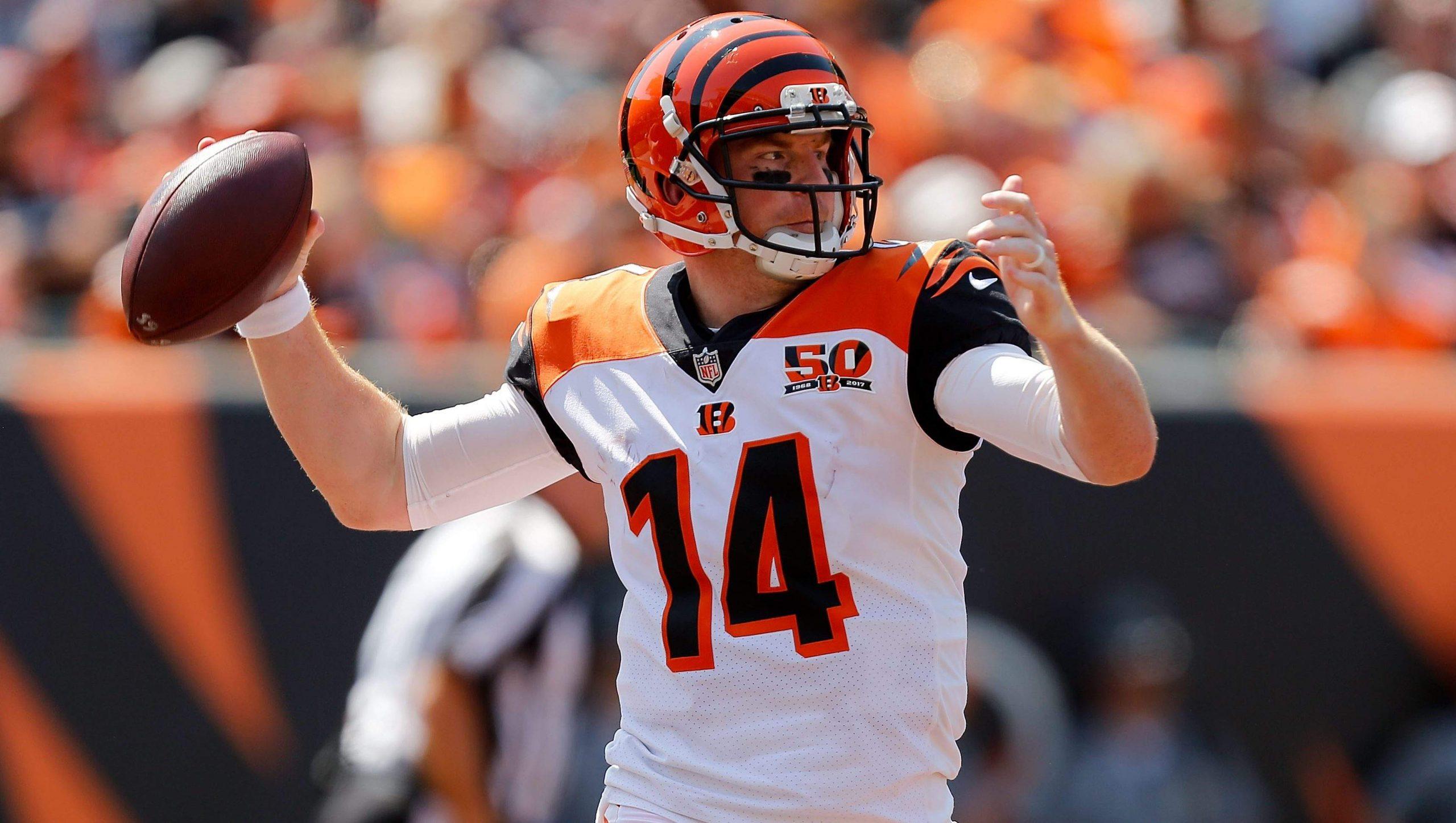 Cincinnati Bengals, QB Oyuncusu Andy Dalton'u Serbest Bırakıyor!