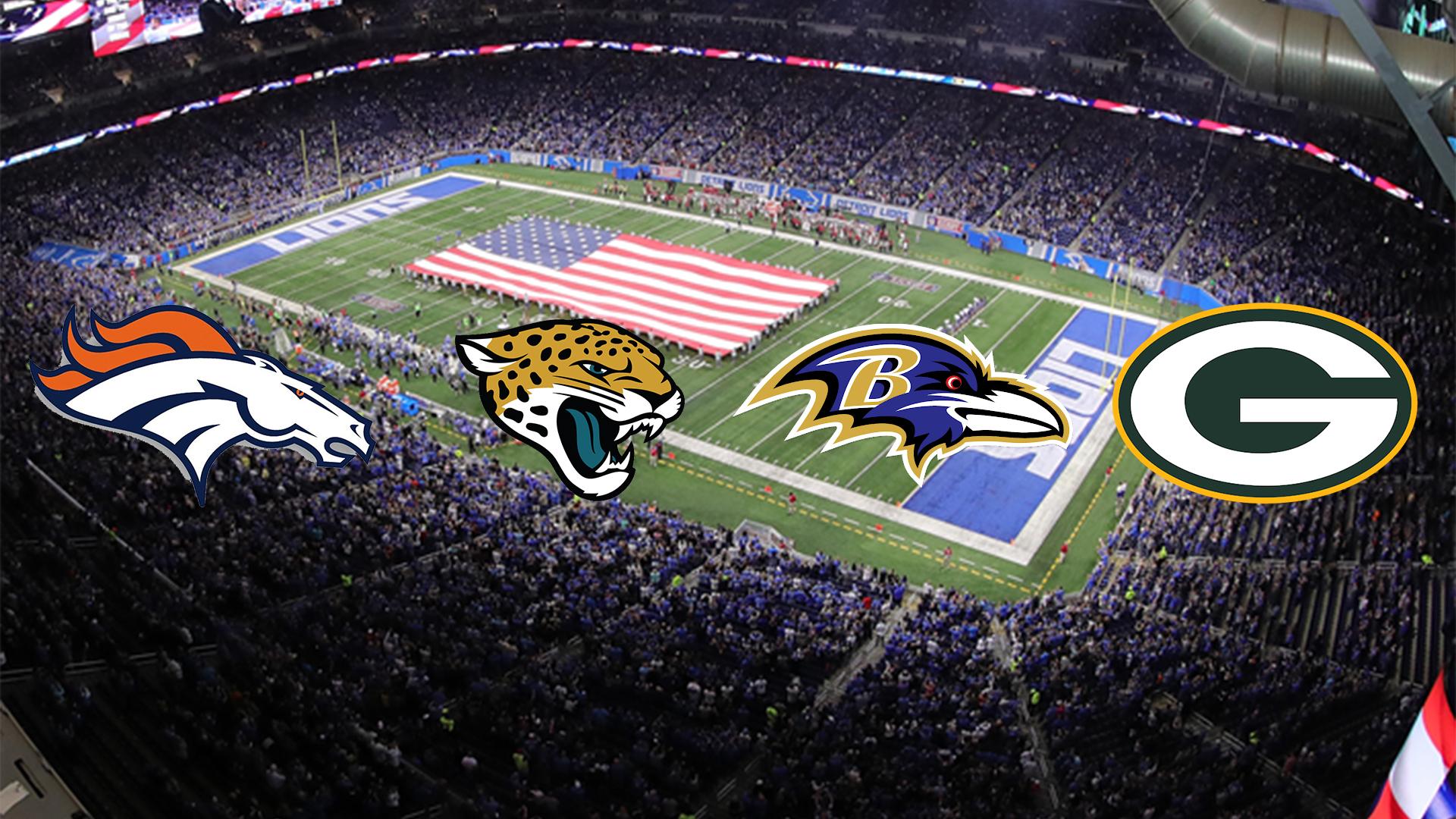 Broncos, Jaguars, Packers ve Ravens'da Takım Tesisini Açtı