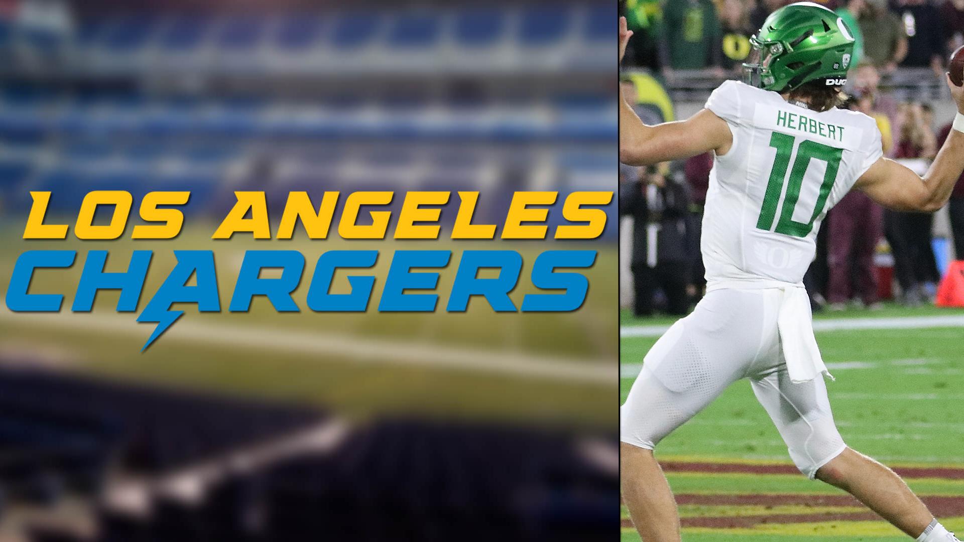 Chargers'ın Gelecekteki Starter QB Oyuncusu Justin Herbert!   Korumalı Futbol Türkiye