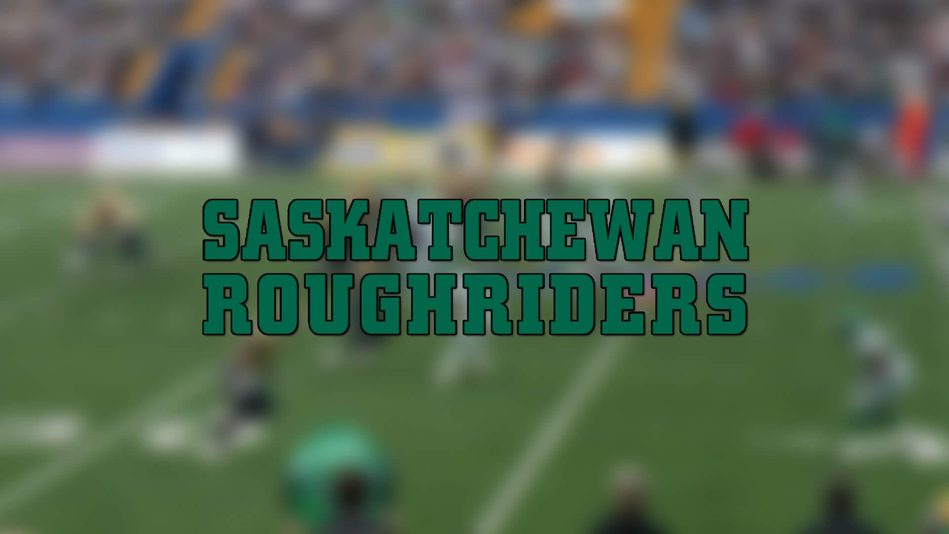 Saskatchewan Roughriders, 2 Oyuncuyla daha Kontratı Uzattı | Korumalı Futbol Türkiye