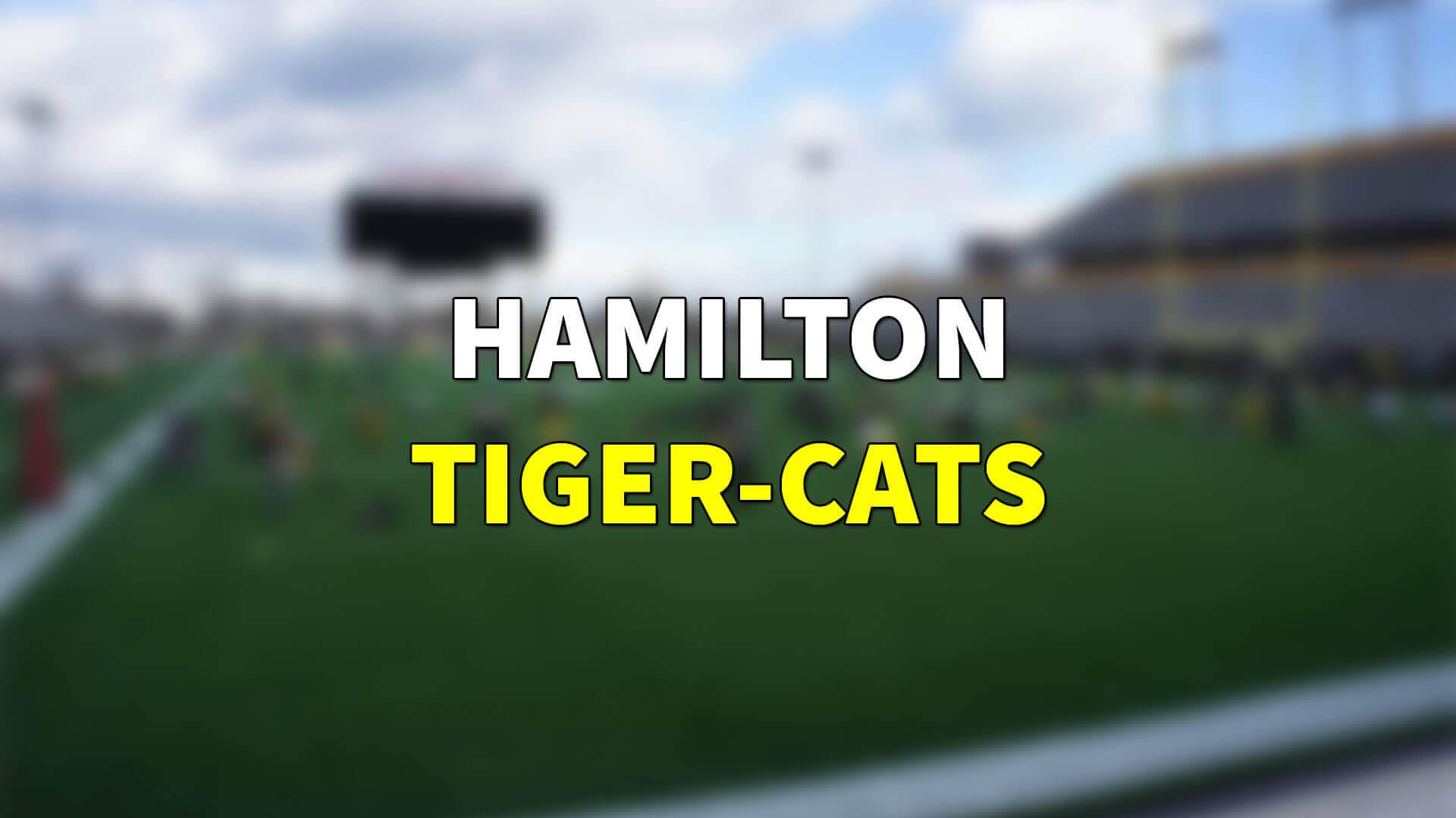 Tiger-Cats, Bralon Addison ile Anlaşma İmzaladı   Korumalı Futbol Türkiye