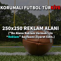 Sidebar 250x250 Reklam Alanı | Korumalı Futbol Türkiye