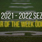 NFL Player of the Week | 2021 | 1. Hafta | Korumalı Futbol Türkiye