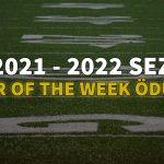 NFL Player of the Week   2021   5. Hafta   Korumalı Futbol Türkiye